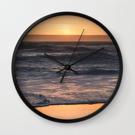 Sunset Kiss Wall Clock
