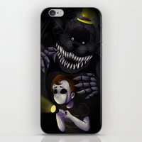 fnaf iPhone & iPod Skins featuring NIGHTMARE by Awful-Critter