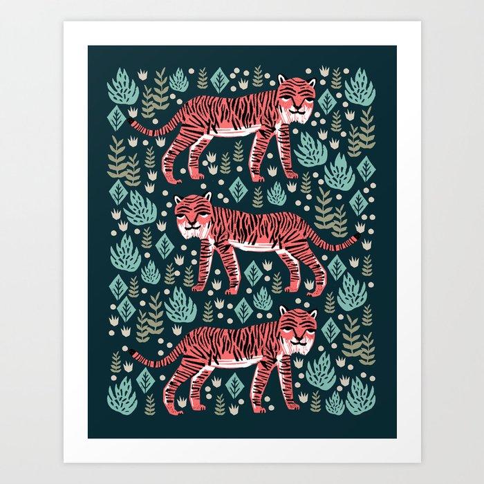 Safari Tiger by Andrea Lauren  Kunstdrucke