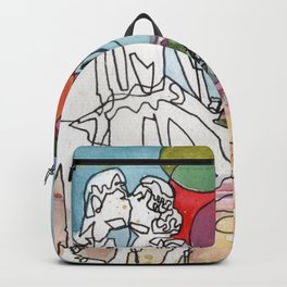 Kissing in Paris Backpack