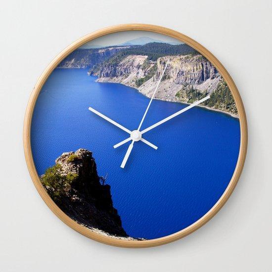 Crater Lake Wall Clock