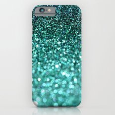 more teal glitter iPhone 6s Slim Case