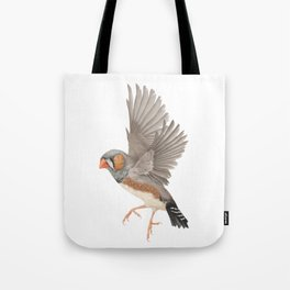 Zebra Finch Tote Bag