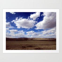 Wyoming Prairie Art Print