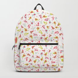 Abstract Triangle Shapes Backpack