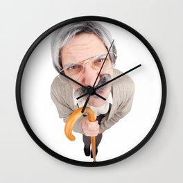 Grumpy Old Guy Wall Clock