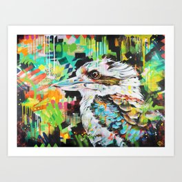 Serious Business [Kookaburra] Art Print