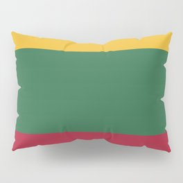 Lithuania flag emblem Pillow Sham