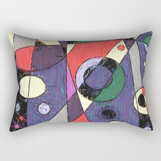 Abstract #747 Rectangular Pillow