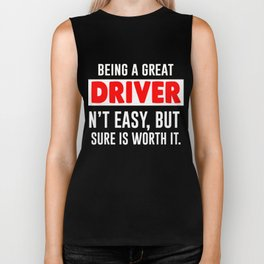 Best Gift For Driver. T-Shirt From Kids. Biker Tank