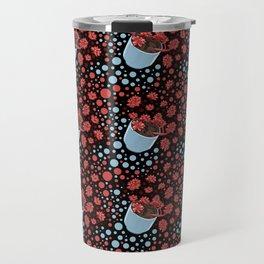 Lovely Succulent Pot Pattern Travel Mug