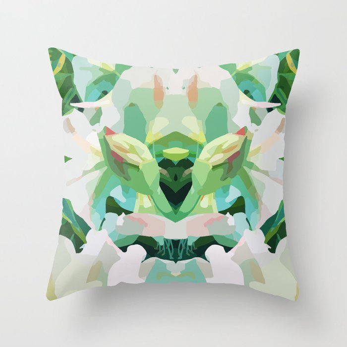 Wild Hearted Throw Pillow