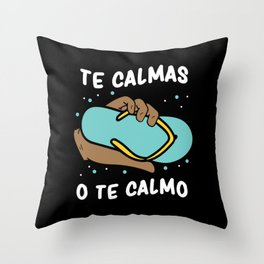 Spanish Mom Humor Joke Spaniard Gift Throw Pillow