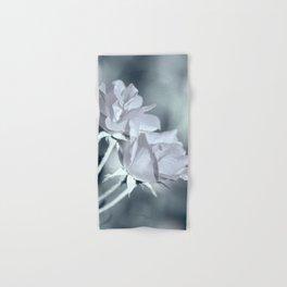 Twin White Roses Hand & Bath Towel