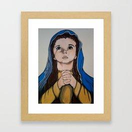 The Holy Child Mary Framed Art Print