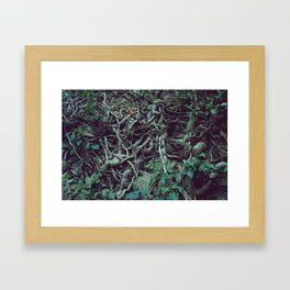 Very much tangled and scary Framed Art Print