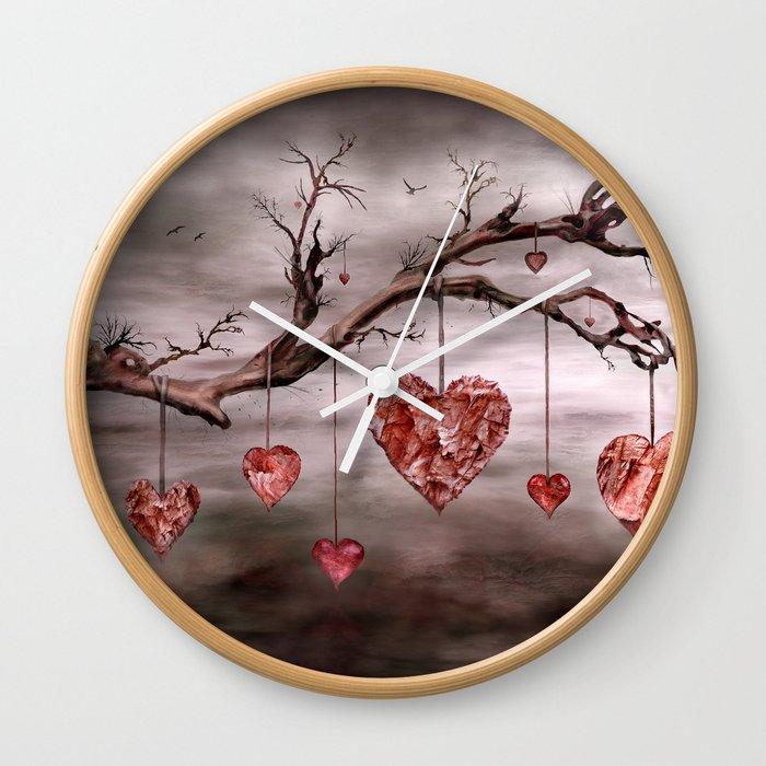 The new love tree Wall Clock