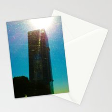Building's Glare Stationery Cards