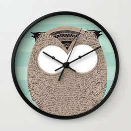 Owlsome, sweet collection Wall Clock
