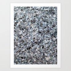 Granite mineral Art Print