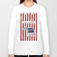 peanuts Long Sleeve T-shirts featuring Jumbo Peanuts by Carl Floyd Medley III
