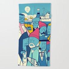 Acquatic Life Beach Towel