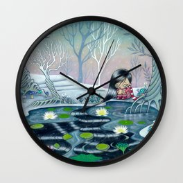 Reflection of Self and Letting it Go Wall Clock