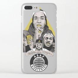 ASAP Worldwide Clear iPhone Case