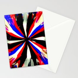 Pattern #6 - Bold Stripes Stationery Cards
