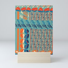 Native retro Mini Art Print