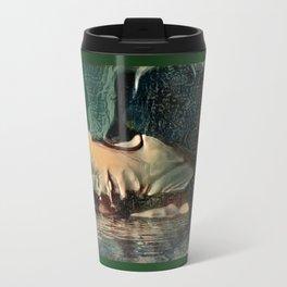 Defeat Travel Mug
