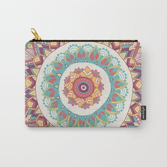 Midsummer Mandala Carry-All Pouch