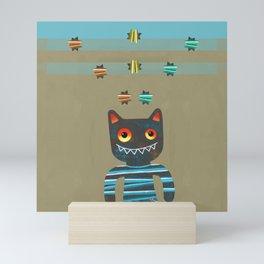 stars and stripes Mini Art Print