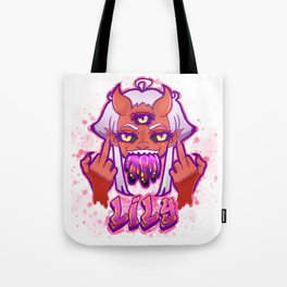 Lily FTW in Pinku Tote Bag