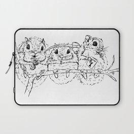 Super Secret Squirrels Laptop Sleeve
