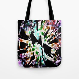 Tie dyed Magpi Tote Bag