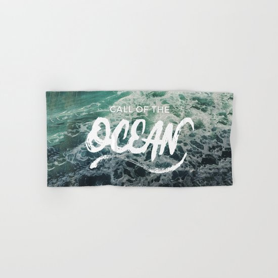Call of the Ocean Hand & Bath Towel