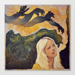 Laura Marling // The beast Canvas Print