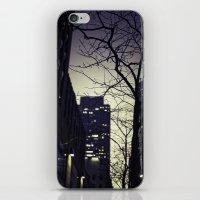 30 rock iPhone & iPod Skins featuring Morning  at 30 Rock by Benjamin Hunter