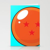 dragonball Stationery Cards featuring Sacred Dragonball by Hussein Ibrahim