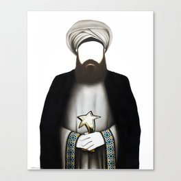 "MUHAMMAD      ""The Planet Earth Awards, Beyond Superstition"" Canvas Print"