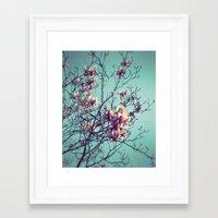 vintage flowers Framed Art Prints featuring Vintage Flowers by ALP-Fotografie