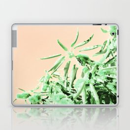 Green chestnut tree impressions Laptop & iPad Skin