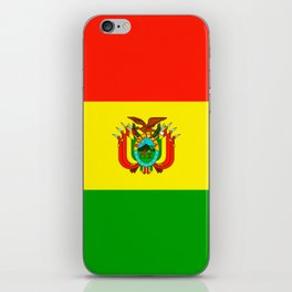 Flag of Bolivia iPhone Skin