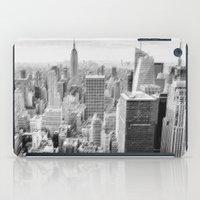 manhattan iPad Cases featuring Manhattan by Sébastien BOUVIER