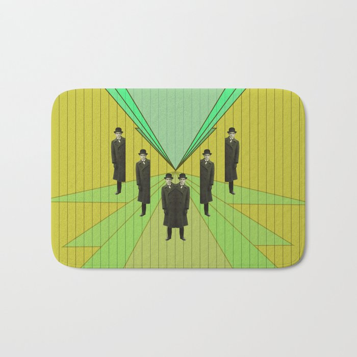 spies are everywhere Bath Mat