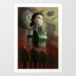 Kuvira - The Great Uniter Art Print