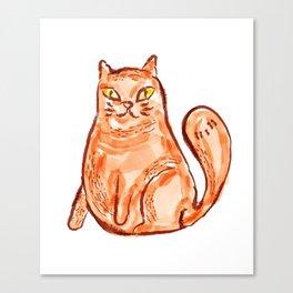 Cat Portrait 1 Canvas Print