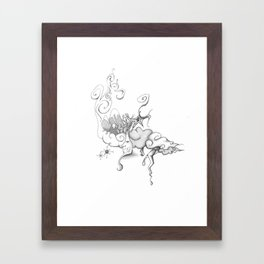 Mother Nature Father Moon Framed Art Print