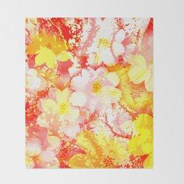 Flowers_106 Throw Blanket